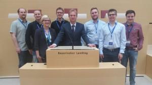 Ju Wemding im bayerischen Landtag